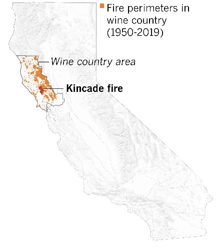 We mapped every wine country fire. They're larger and more destructive thanever
