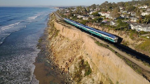 Officials press forward with emergency plan following string of collapses at Del Mar bluffs - Los Angeles Times