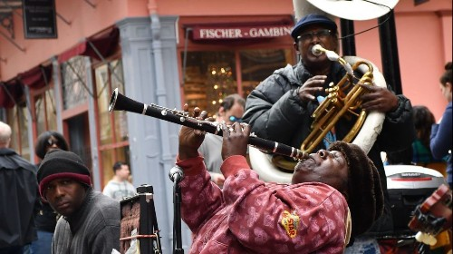 New Orleans' Royal Street is home to the queen of clarinet