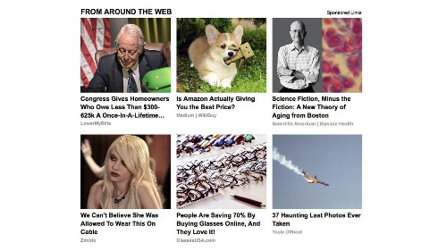 Without these ads, there wouldn't be money in fake news