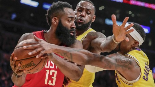 LeBron James leads Lakers back from double-digit deficit to beat Rockets
