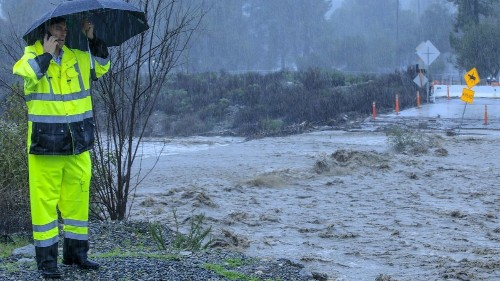 18 trillion gallons of rain in California in February — and more on the way