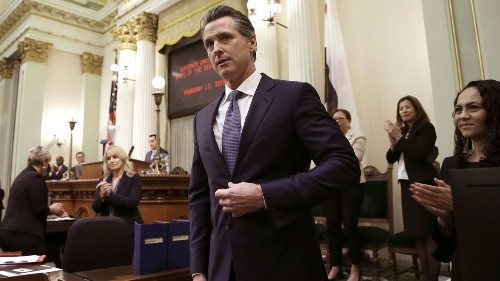 Newsom can thank Trump for saving him from his high-speed rail flub