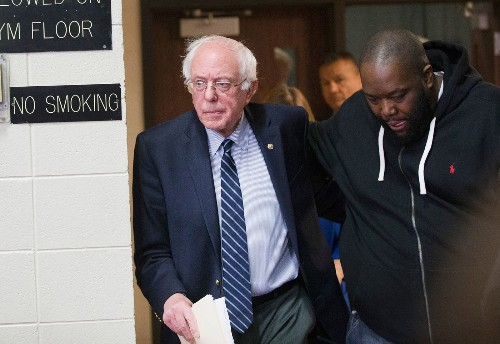 Sanders' message does speak to black voters in South Carolina -- the younger ones