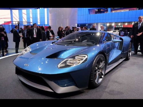 Detroit Auto Show: Ford shows off GT supercar, Mustang GT350R, Raptor truck