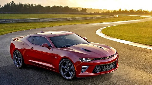 Chevrolet unveils smaller, lighter and sleeker Camaro for 2016 - Los Angeles Times