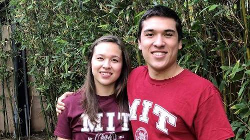 Twins Will and Sofie Kupiec's formula for success = MIT education