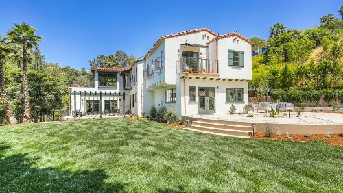 Vince Vaughn's former Spanish Colonial in Los Feliz lists with a new look