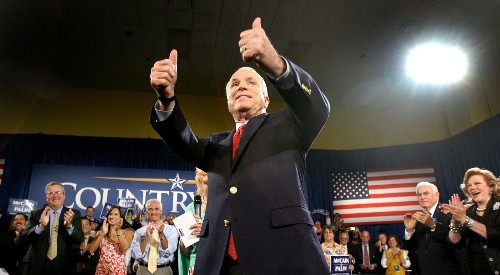 John McCain's death marks a new era for congressional checks on Trump