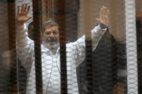 Egypt's ousted President Morsi sentenced to death