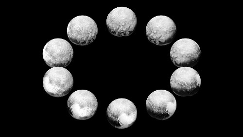 Newest Pluto pics show day in life of dwarf planet