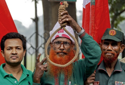 Bangladesh's high court upholds death sentences for 2 opposition leaders; protests planned