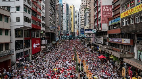 Stand with the people of Hong Kong