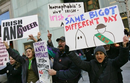 New York City St. Patrick's Day Parade will include openly gay group