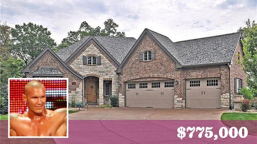 WWE star Randy Orton pins down a buyer for his Missouri home