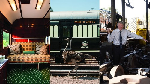 Touring South Africa in the lap of luxury aboard Rovos Rail's restored train - Los Angeles Times