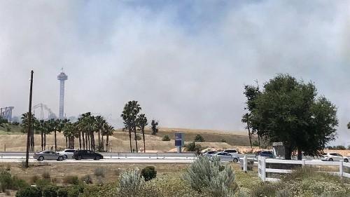 Fire weather arrives in L.A. as firefighters battle blaze in Yolo County