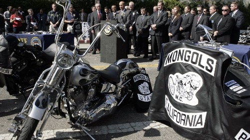 Could a notorious biker club's survival hinge on a trademark? The feds are betting on it - Los Angeles Times