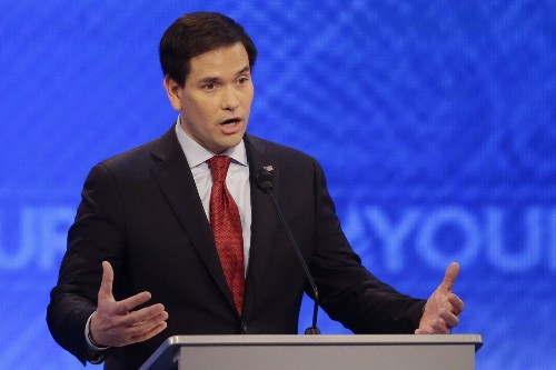 Rubio stumbles with help from Republican governors who have nothing to lose