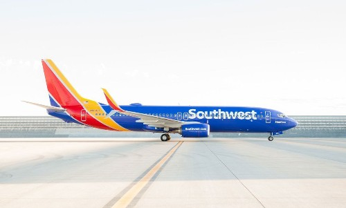 Southwest Airlines unveils new aircraft design, logo
