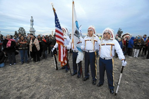 Hero of Sand Creek Massacre in Colorado honored on 150th anniversary
