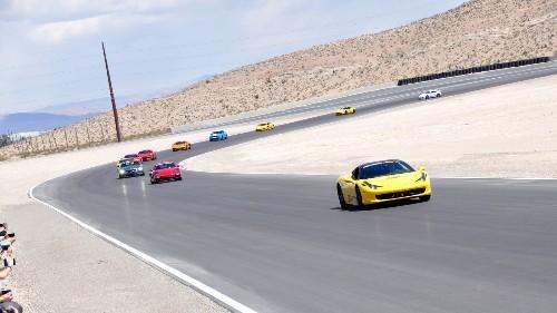 Drive a Ferrari or Corvette on new Las Vegas racetrack for under $100
