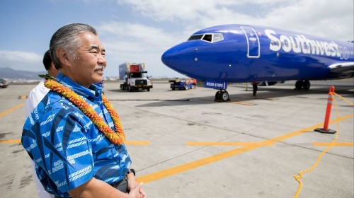 Southwest Hawaii air service caused a 17% fare drop from California