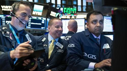 Optimism over trade sends U.S. stocks sharply higher