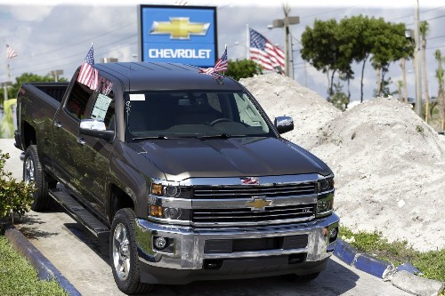 Automakers report sales gains for SUVs and trucks as gas prices fall - Los Angeles Times