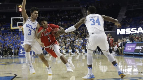 Friends and roommates, UCLA basketball's backcourt of the future is nearly inseparable