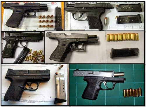 TSA collects 2,000 firearms at nation's airports, setting new record - Los Angeles Times