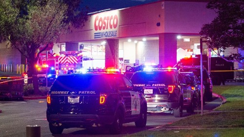 Costco shooting: LAPD officer was knocked out by attacker before opening fire, attorney says