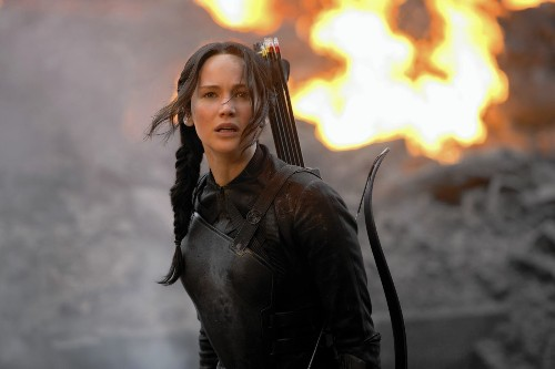 'Mockingjay Part 1' sets up 'Hunger Games' finale nicely - Los Angeles Times