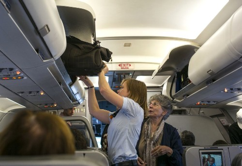 Reports of 'unruly passengers' on planes drop; social media might be the reason - Los Angeles Times