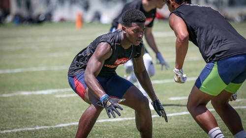 Narbonne cornerback Brandon Jones is already thinking big about his future at Stanford