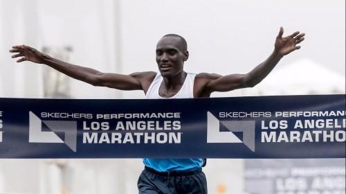 Weldon Kirui aims to become first three-time winner at L.A. Marathon