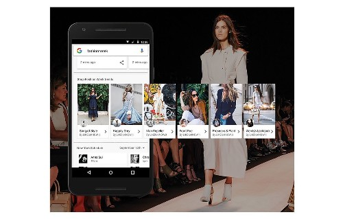 How Google is making street style shoppable at New York Fashion Week - Los Angeles Times