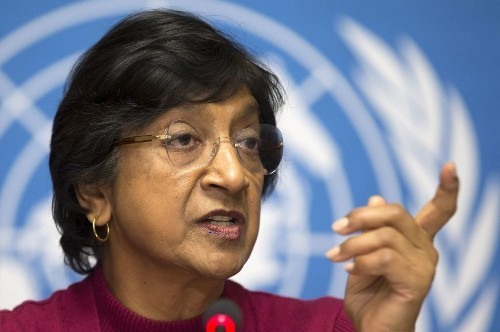 U.N. rights chief deplores torture in war-plagued Syria - Los Angeles Times