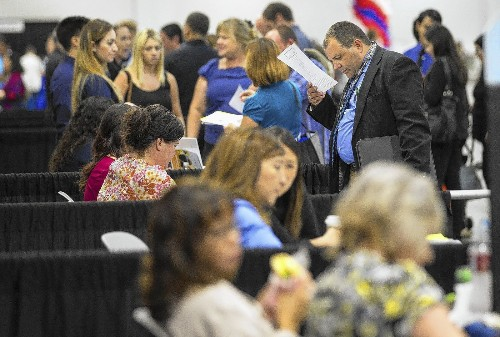 California's unemployment rate falls to 7.4%