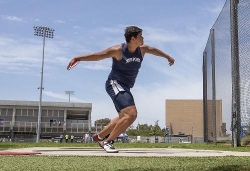 Newport Harbor's Aidan Elbettar, Laguna Beach's mile relay earn All-American track and field honors at New Bal