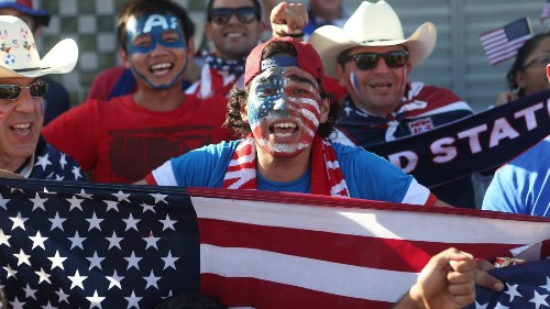 U.S. fans making their mark in Brazil