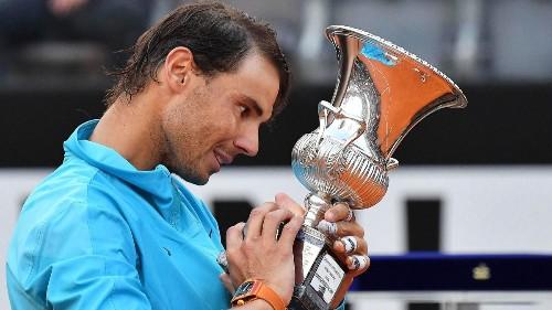 Rafael Nadal beats Novak Djokovic to win Italian Open for ninth time
