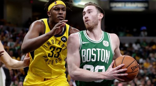 NBA playoffs: Celtics become first team to advance with sweep of Pacers
