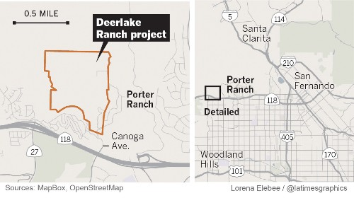 High-end housing planned on 230 acres next to Porter Ranch