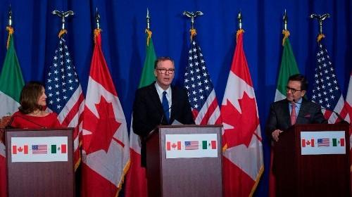 Trump administration updates demands as NAFTA talks continue
