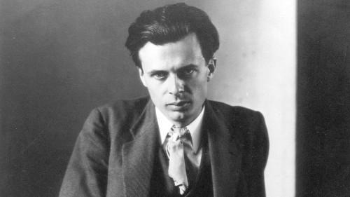Happy birthday, Aldous Huxley!