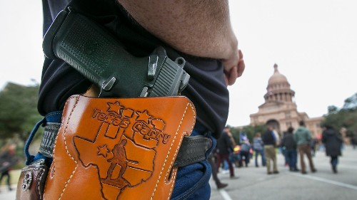 Texas sues to enforce right to carry guns in county courthouse - Los Angeles Times