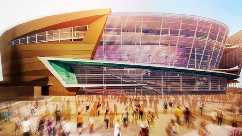 Las Vegas arena and city's NHL bid are rolling along