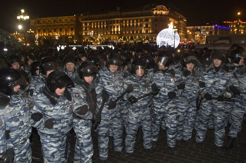 In bold display, thousands in Russia protest Alexei Navalny sentence