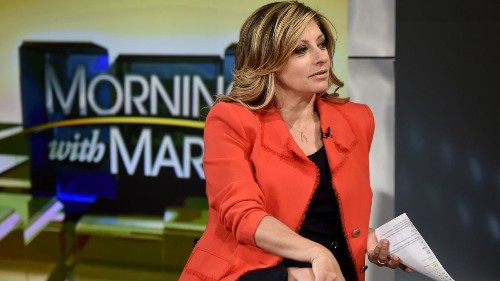 Maria Bartiromo's stock has risen at Fox Business Network and Fox News